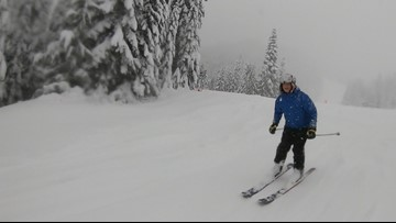 Crystal gets 7 feet of snow  in 7 days with more mountain snow coming