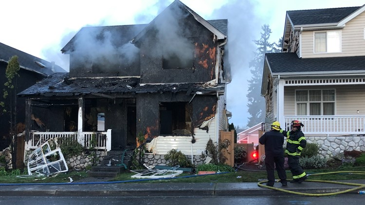 One person dead, another in critical condition after house fire in Renton