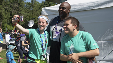 Special Olympics Washington's Day of Inclusion is a fun-filled day of friendly sports competition