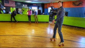Field Trip Friday: Team Evening laces up roller skates for the first time in decades