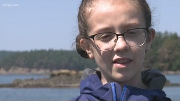 12-year old Washington girl London Fletcher fights to save endangered orcas
