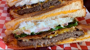 The most decadent burger in Washington is in Everett - Cheap Eats - KING 5 Evening