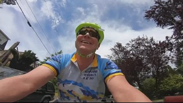 Pedaling doctor makes house calls in Seattle