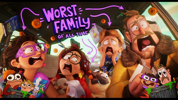 Vibrant and heartwarming comedy 'The Mitchells vs The Machines' celebrates family imperfections