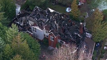 Body found inside burned house following hostage situation in Issaquah
