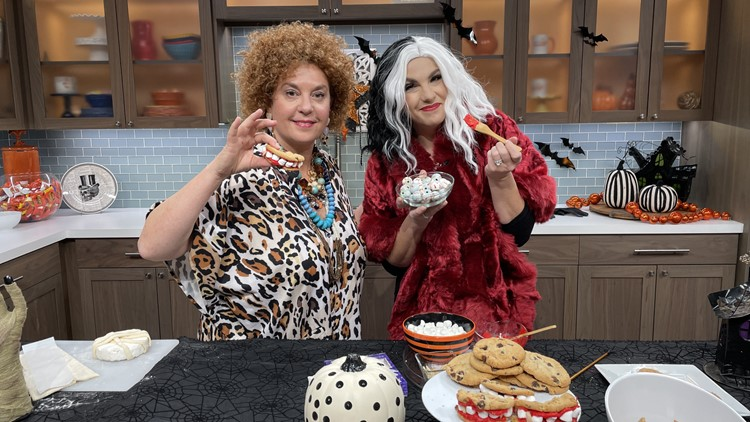 Try these fun Halloween  recipes from Delish