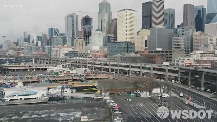 Before and after: Seattle's Alaskan Way Viaduct is now a piece of history