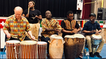 Dancers and musicians use their talents to bridge the gap between cultures