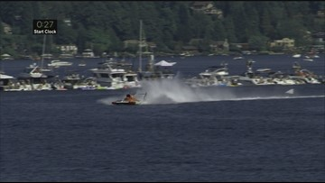 WATCH: Hydroplane flips 60 feet in the air during Seafair