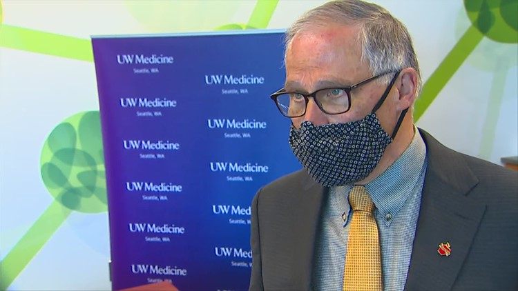 Inslee hopes UW gets part of $1.7 billion in federal COVID-19 variant research funding