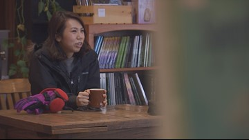 People thirsty for 'attitude adjustments' at Redmond coffee shop after snowstorms