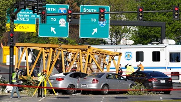 'A horrible day in Seattle': Crane collapse kills 4 in downtown