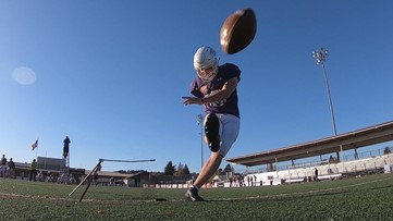 Prep Zone: Sumner's Wyatt Redding is one of the best kickers in the state