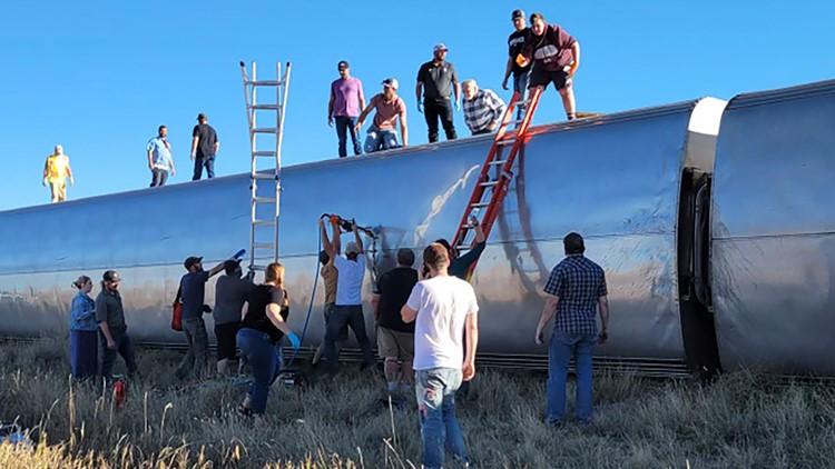 A look at recent Amtrak accidents