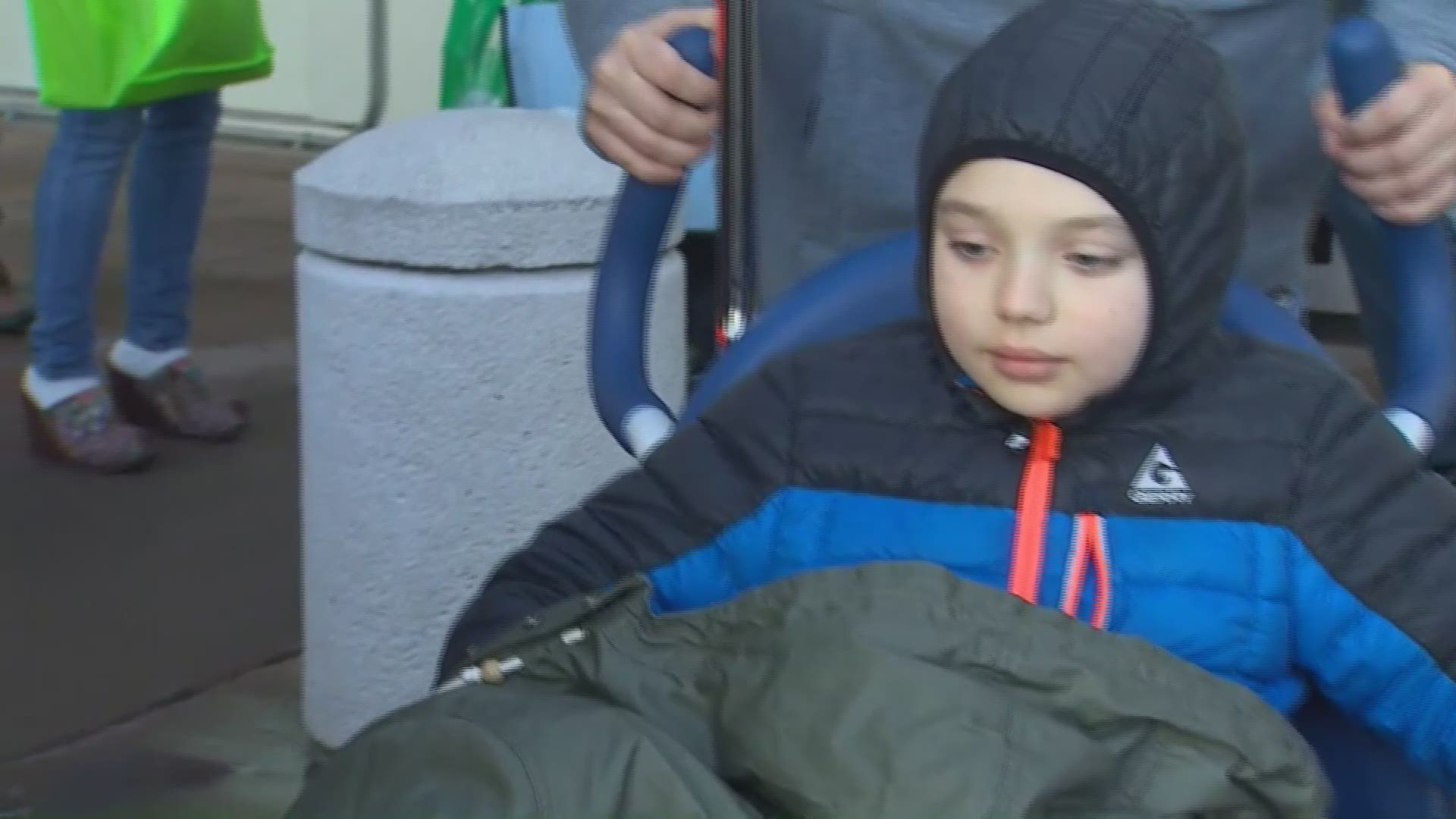 Incredible Young Man Boy Released From Hospital After Downtown Seattle Shooting King5 Com