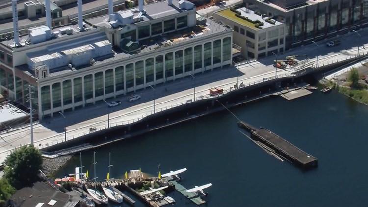 Seattle's new $52 million Fairview Avenue bridge opens Saturday