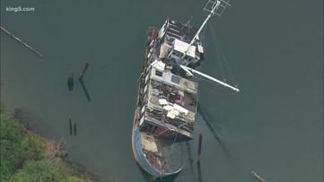 Proposal would strengthen Washington state's derelict vessel removal program