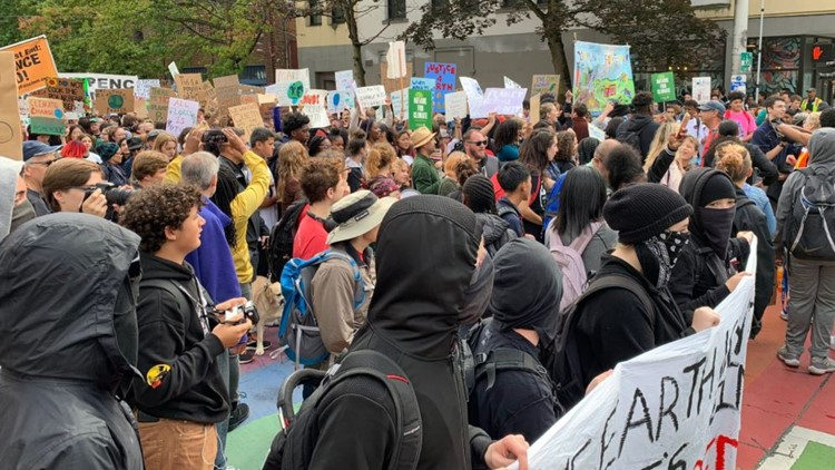 Washington students, activists take part in Global Climate Strike