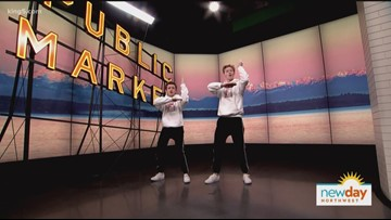 """Two Vancouver Island teens take their hip-hop duo to NBC's """"World of Dance"""" - New Day Northwest"""