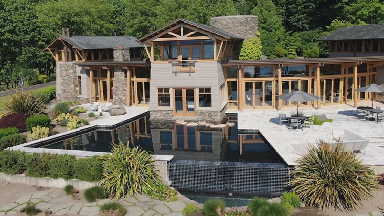 Normandy Park stunner is the ultimate beach house - KING 5 Evening