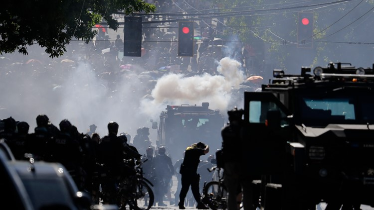 Elected officials must OK tear gas use by cops in Washington under compromise plan
