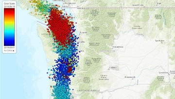 Tiny, deep earthquakes under Washington less powerful than before, scientists say