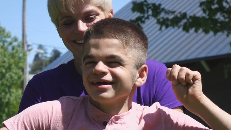 Bremerton mom takes to TikTok to raise awareness about her son's terminal disease
