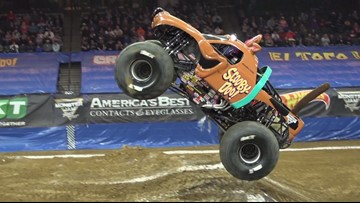 Monster Truck driver Myranda Cozad is ready to bring it this weekend at Monster Jam