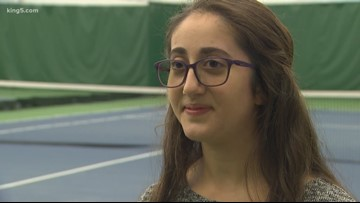 Bellevue teen launches effort to recycle tennis balls