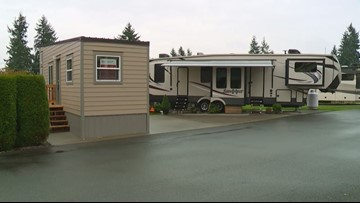 Puyallup mobile home park is transforming into tiny homes