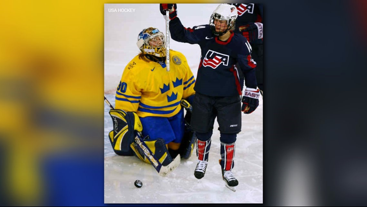Team USA Women's Hockey - Kelly Stephens-Tysland