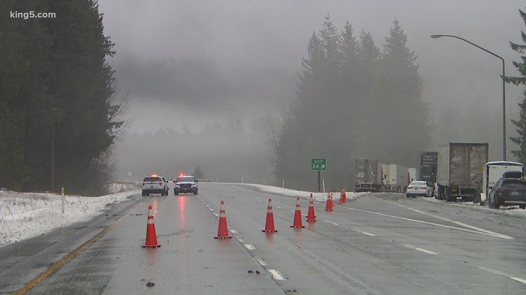 Snoqualmie Pass reopens after 23-hour closure, Stevens Pass still closed