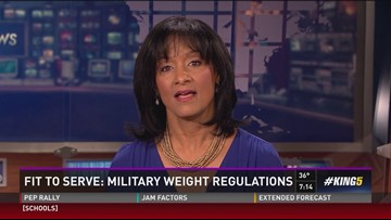 Fit to serve: Military weight regulations