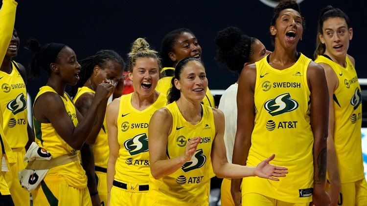 Seattle Storm win 4th WNBA Championship with sweep of Las Vegas Aces