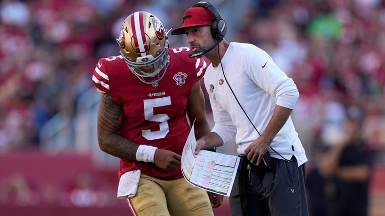 49ers rookie Lance to make 1st start in place of Garoppolo