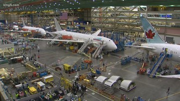 Work continues at Boeing amid positive coronavirus cases
