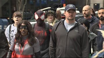 Pop culture fanatics take over downtown Seattle for Emerald City Comic Con