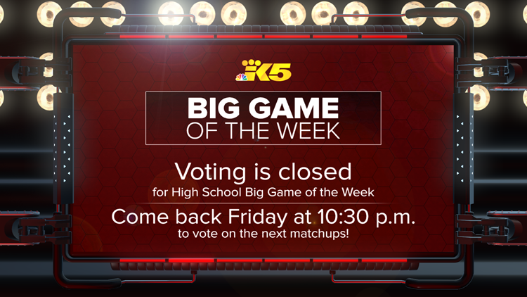 Big Game of the Week closed