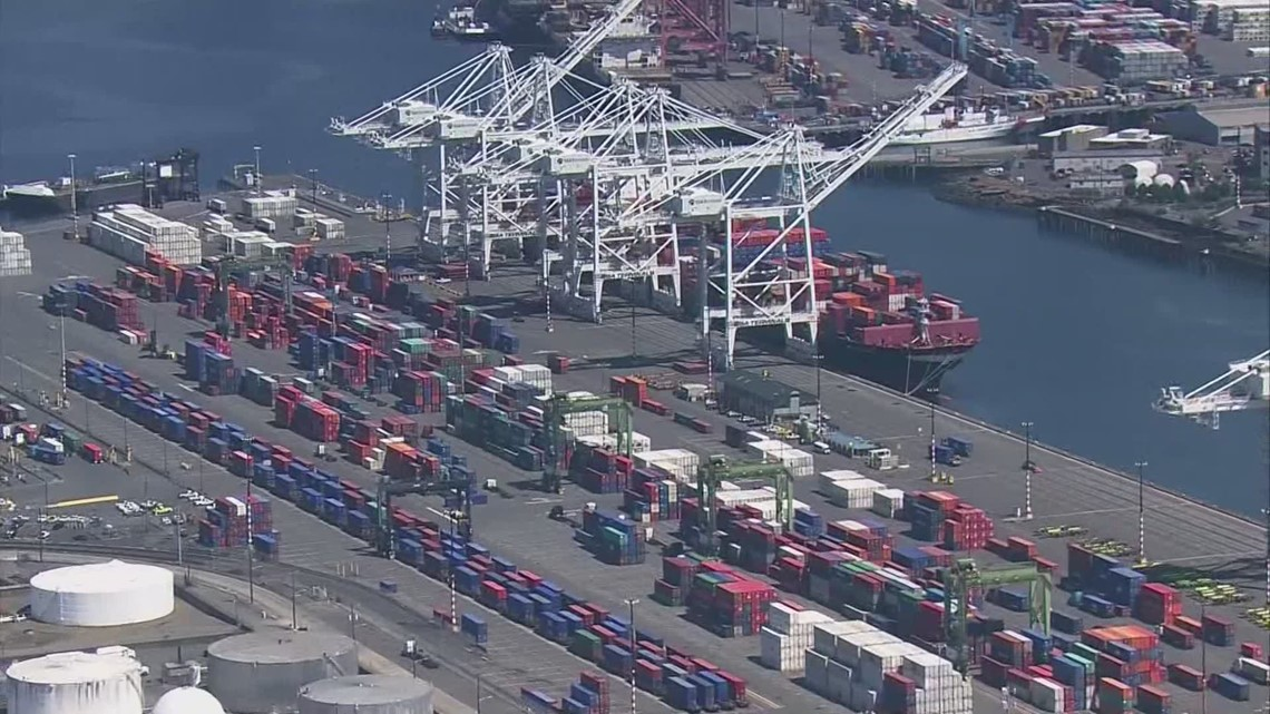 Ports of Tacoma, Seattle commit to a goal of zero emissions by 2050