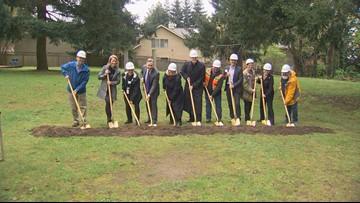 Groundbreaking for new Kirkland women's shelter