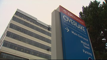 Overlake collects donations for homeless patients