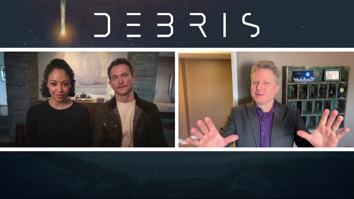 The stars of NBC's new sci-fi show Debris talk about their new show