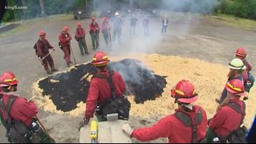 Washington state expanding inmate wildfire crews
