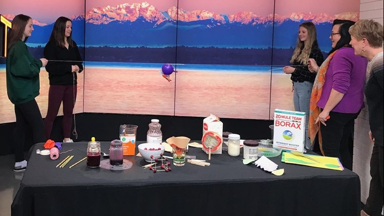 Try out these science experiments with the family over Thanksgiving