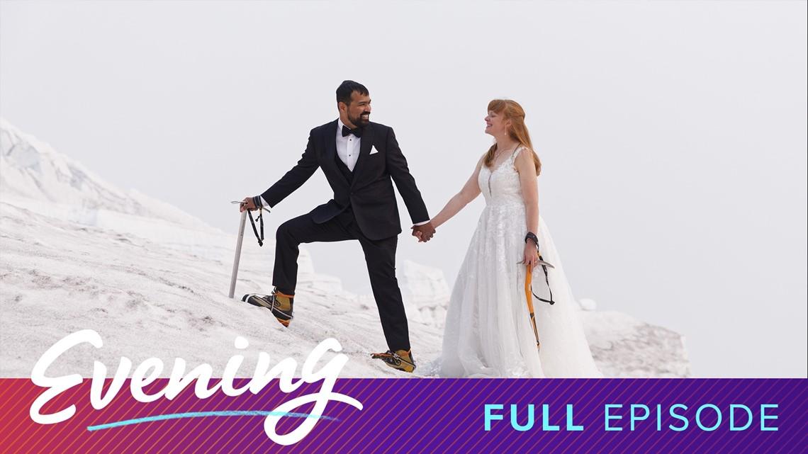 Pre-game brews with Kraken announcer Everett Fitzhugh and a Wedding on top of Mt. Rainier | Full Episode - KING 5 Evening