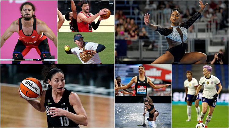 Your guide to athletes with western Washington ties competing at Tokyo Olympics