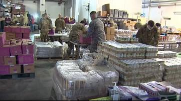 National Guard deployed to help Washington food banks