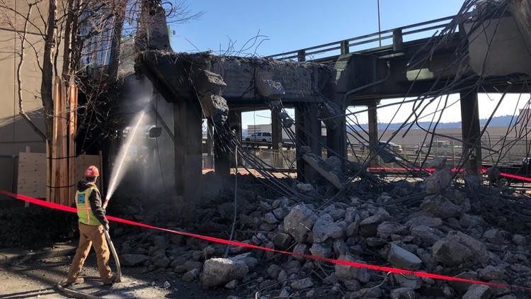 seattle viaduct demolition - western avenue off-ramp