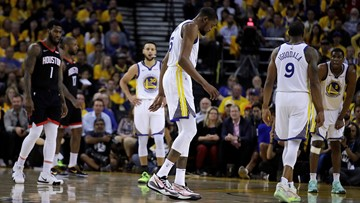 Warriors Durant, Cousins may miss Western Conference Finals
