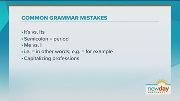 Avoiding these common grammar mistakes will quickly improve your writing